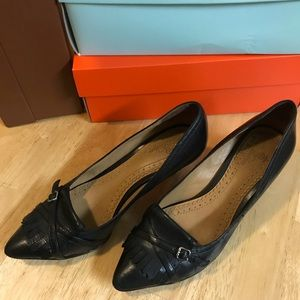 Brooks brothers pump shoes size 7 black